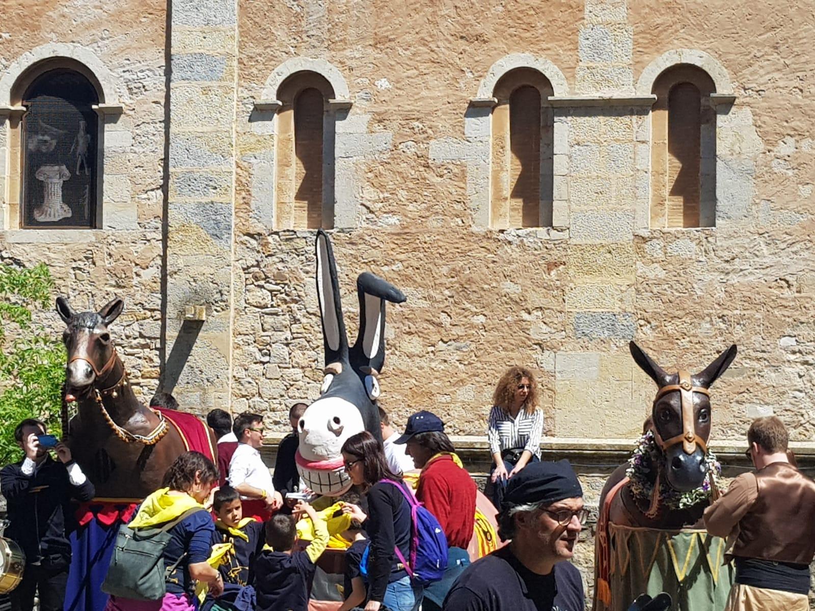 Mulassa de Mataró a la V trobada de Mulasses