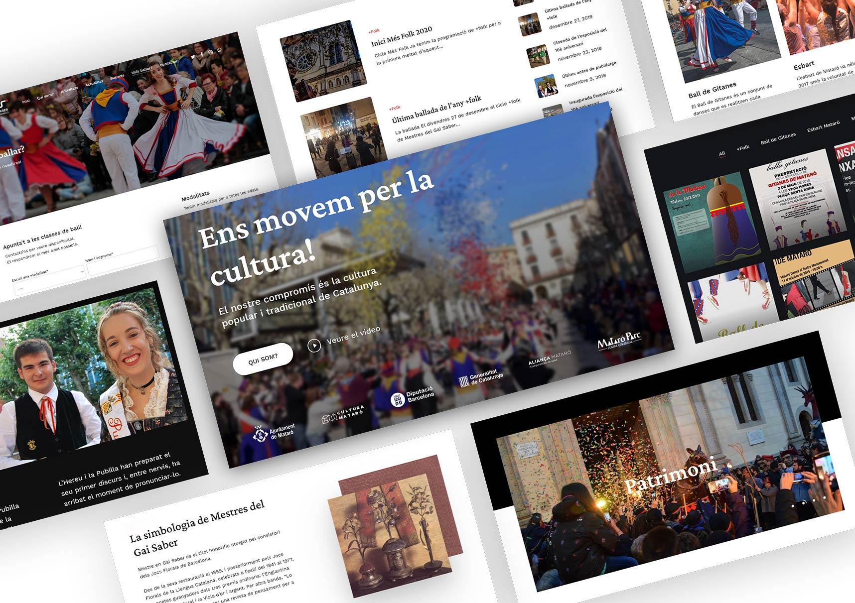 Presentació nova imatge 2021 – Pàgina web i logotips